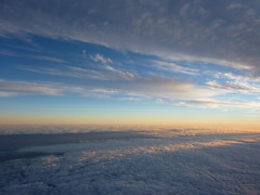 Sunset Above The Clouds (stef...o) Tags: above sunset sky cloud soleil coucher ciel layer