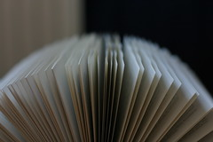 121: Pages in a book. (Russ Darkpoint) Tags: canon book pages potd 50mmf14 2013