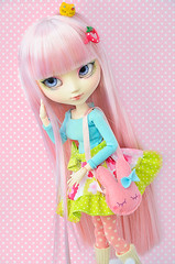 Honey (~Sharuya) Tags: pink angel gate planning ag groove pullip custom decora pullips jun obitsu junplanning 27cm