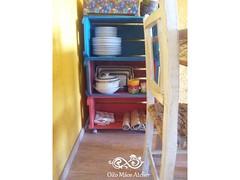 Estante de caixote (Oito Mos Atelier) Tags: de estante caixote caixotes