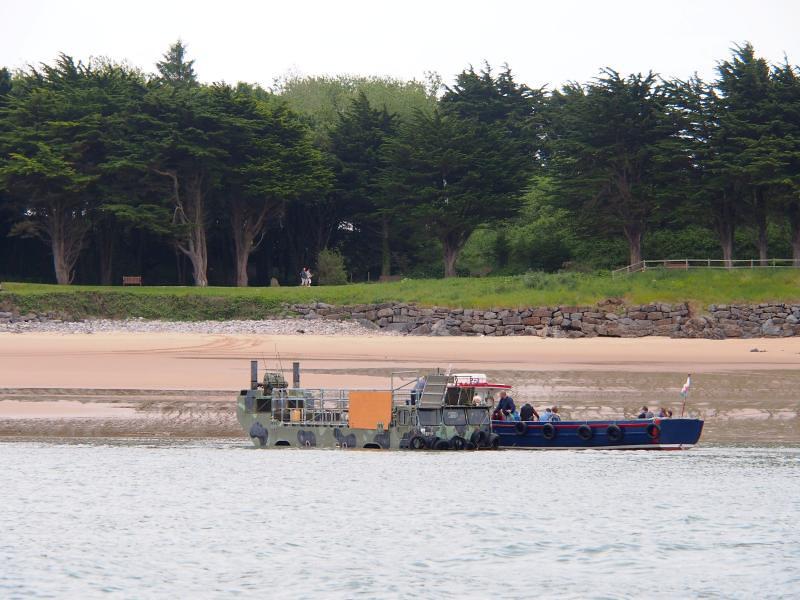 DUKW on Caldey Island 26th June 2013 (12)