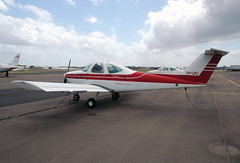 VH-LBO Beechcraft 77 Skipper Hempels Aviation (Robert Frola Aviation Photographer) Tags: nikond70 skipper 2006 beechcraft ybaf beechcraftskipper hempelsaviation vhlbo
