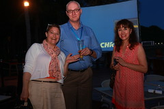 Summit in Sanya (CSOFT Gallery) Tags: dinner sanya intercontinentalhotel stumptheexperts klausherrmann summit2013 gloriabroadbent