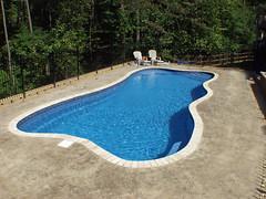 Paradise Bay-16x38 (Tallman Pools) Tags: pool swimming swim paradise swimmingpool pools tallman swimmingpools paradisebay fiberglasspool ingroundpool ingroundpools fiberglasspools 16x38 tallmanpools tallmanpool