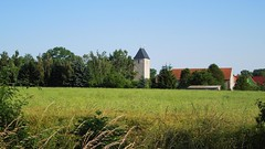 Kirchturm Holzengel (Tobi NDH) Tags: germany deutschland thringen day churchtower thuringia clear kirchturm holzengel 2013 kyffhuserkreis sttrinitatis vggreusen