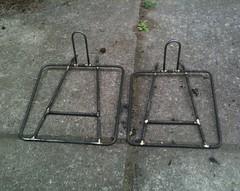 Two Blasdel-style porteur rack platforms (Tysasi) Tags: porteur rack lukasz tarckrack rackcollection bagsracks orcrack orcracks customrack customracks