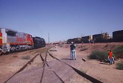 Santa Fe #3751 Employee Recognition Special (Santa Fe Way) Tags: santafe yard railway trains steam passenger baldwin barstow atsf 3751 sbrhs