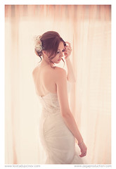 The bride (www.kostadupcinov.com) Tags: wedding portrait white look female canon bride glamour dress glam kosta kumanovo 5dmarkii dupcinov
