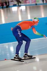 2B5P4484 (rieshug 1) Tags: b worldcup dames schaatsen speedskating 5000m eisschnelllauf gundaniemannstirnemannhalle thuringereissportverband essentisuworldcup2013 weltcupladiesandmenalldistances