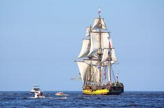 "ШТАНДАРТ Shtandart (Alexey Sabelnikov) Tags: blue sea boats sailing ship ships vessel sail tallship tallships riga regata shtandart 2013 races"" штандарт ""tall"