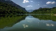 Nuvole riflesse (lele orpo) Tags: river sardinia gh1 cedrino neulè ecoparco