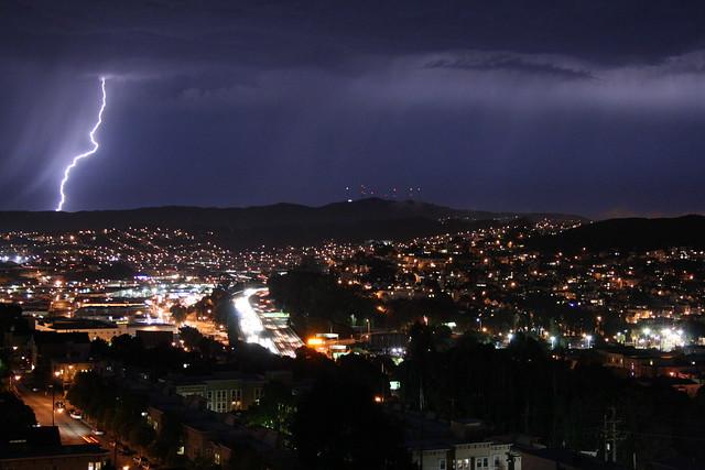 San Bruno Lightning