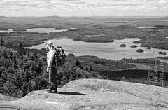 Hiking Ampersand (ShawnGrenningerPhoto) Tags: camping sky usa mountain ny newyork clouds outdoors view august adirondacks summit vista day4 paddling saranac adirondack adk map2 ampersand canoetrip adirondackmountains franklincounty section2 adirondackpark kayakingtrip 2013 ampersandmountain ampersandlake saranacs middlesaranaclake northernforestcanoetrail nfct adirondacklakes longlaketosaranac