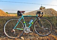Celeste (Yo Spiff) Tags: bicycle b17 brooks bianchi celeste campagnolo veloce