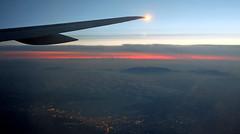 Window View - Flying into Rhodes (Fuji XM1 & 27mm F2.8) (High ISO ie 3200) (markdbaynham) Tags: sky window high fuji view wing x aerial iso trans fujinon sensor csc xm1 mirrorless digitaldepotcouk