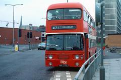 1982-06-19 WHL 275J Daimler Fleetline-Alexander 673 of West Riding,  Wakefield (John Carter 1962) Tags: bus buses nbc daimler