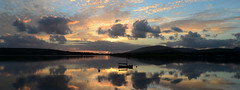 Sunset Dingle (Barbara Walsh Photography) Tags: ireland light sunset water clouds reflections evening dinglepeninsula nikond5100