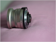 Contax G 28mm 2.8 Rear View (Nor Salman) Tags: contaxg28mm epl2 metabonesadaptertookwitholympus45mm18 rearelemet