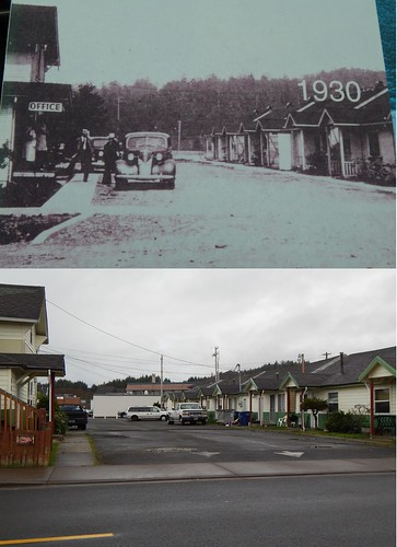 Lincoln City, Oregon - Then & Now