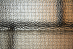 There's crumpled (Tom Wachtel) Tags: abstract window glass metal bar grid wire pattern i500 gridworld
