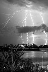 Caloundra Storm 3 (David J Price) Tags: storm queensland lightening passage pumicestone