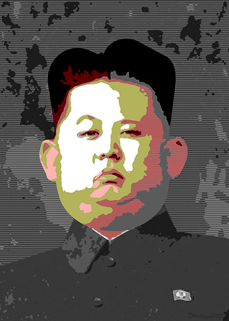 From flickr.com: Kim Jong-un - Caricature Posterized {MID-72291}