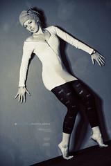 Timi II (Noval Goya) Tags: woman colour girl barefoot leggings