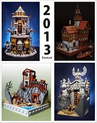 Thank you, 2013 (Fianat) Tags: lego 2014 laketown 2013 fianat