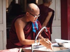 Mahar Gandar Yone Monastery in Amarapura (Myanmar 2013)