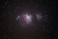 M42 - Orion Nebula - 04012014 (Ed Gibbs) Tags: 66 orion pro equinox qhy5 ioptron 9x50 d3100 smarteq finderguider