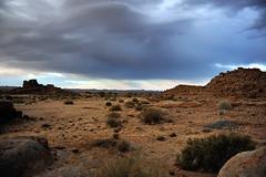 Steppe im Süden Namibias bei Gewitter I