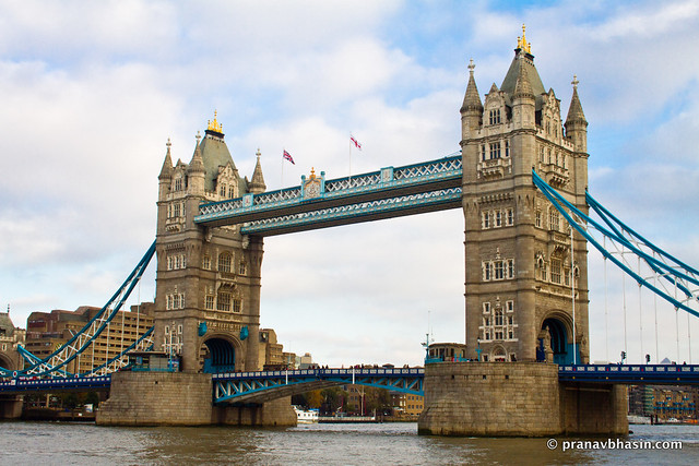 Majestic Tower Bridge And River Thames, London