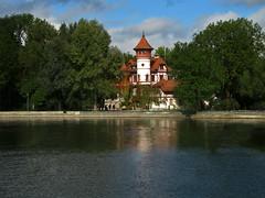 Kurparkschloss, Herrsching (aniko e) Tags: autumn lake castle germany bavaria spa ammersee herrsching