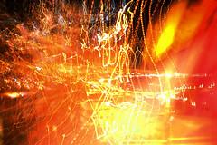 X-plosin (Mauricio Narea) Tags: chile life orange color glass canon lights luces colours shine explosion mosaico colores vida naranja shining blast vidrio brillo fuga outburst popurri detonacion