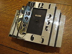 """ART DECO CLOCK FROM BROCK & CO.  LOS ANGELES. • <a style=""""font-size:0.8em;"""" href=""""http://www.flickr.com/photos/51721355@N02/13905156011/"""" target=""""_blank"""">View on Flickr</a>"""