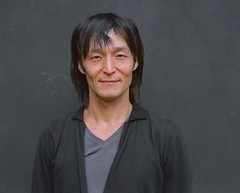 Shinya Murayama, Actor (zohnerarts) Tags: portrait man mamiya film japan mediumformat asian switzerland tessin ticino theatre headshot actor analogue svizzera lugano dongiovanni