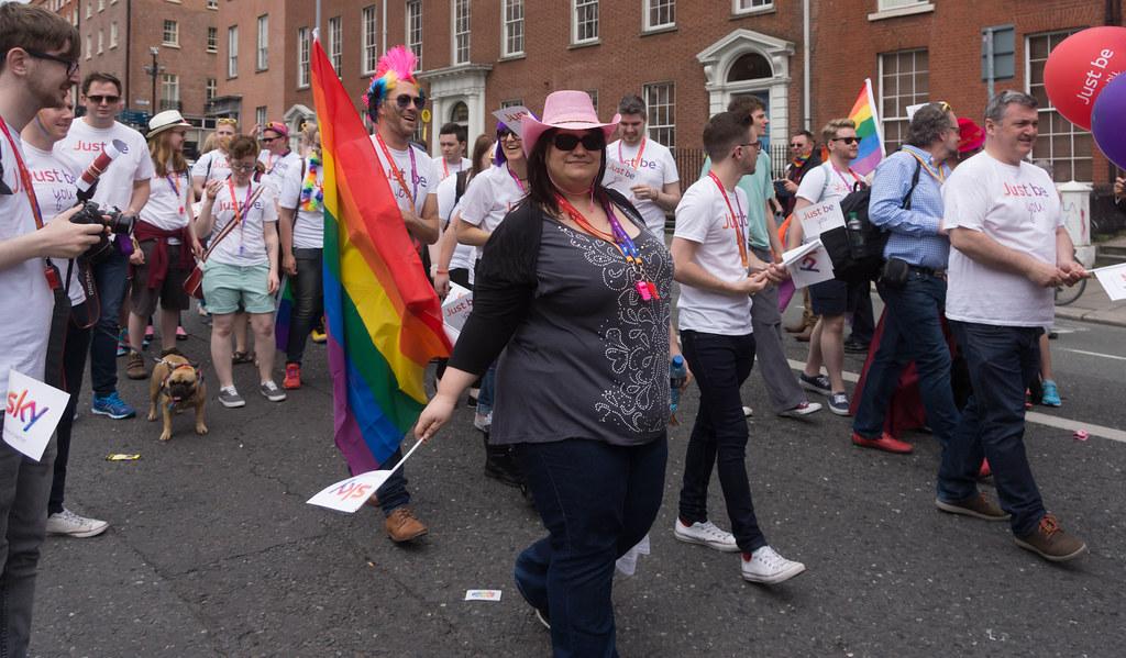 DUBLIN 2015 LGBTQ PRIDE PARADE [WERE YOU THERE] REF-105998