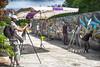 le photographe X_T1DSCF0682 (mich53 - thank you for your comments and 5M view) Tags: sun streetart france colors umbrella soleil artistes photographe parasole manteslaville événement xt1 graffitizm graffpark graphicalexploration xf1655mmf28rlmwr