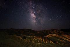Zabriskie Galaxy (eichlera) Tags: california usa moon night canon way stars eos death desert galaxy valley moonlight milky deathvalleynationalpark 14mm samyang 70d