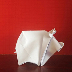 Piggy (Danielle Verbeeten) Tags: origami