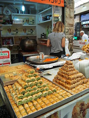 Cakes and sweets made in The Middle east!