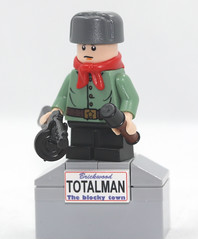 LEGO Russian Soviet WWII Son of Regiment young soldier (dmikeyb) Tags: lego wwii ww2 russian soviet son regiment young soldier ppsh granate