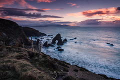 Sunset at the Crohy Head (Pastel Frames Photography) Tags: crohy head arch codonegal sea sunset colours sky clouds nature atlantic ocean wildatlanticwayocean seascape exposure longexposure canon5dmark3 canon2470mm travel sightseeing ireland