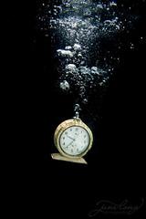 Tick Tock - 9:37 (jane-long) Tags: clock underwaterphotography underwater underwaterworld nikon aquatech photography conceptualphotography time