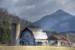 Old Barn and Shed (esywlkr) Tags:
