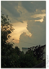 Wolkenspiel (Mr.Vamp) Tags: wolke himmel wolken farbenspiel farben mrvamp