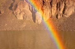 Colors in the mist (Great Salt Lake Images) Tags: spring rainbow shoshonefalls snakeriver twinfalls idaho