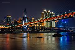 DSC8842_DxO (Asif Hasnat Monon) Tags: cityscape river bridge lake night citylights citybynight buildings architecture chongqing china travel travelchina sony a77 slta77 tamron18200 18200 a14