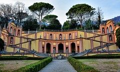 Giardino (giannipiras555) Tags: giardino bogliaco colori statue arte scalinate brescia garda alberi pini nikon