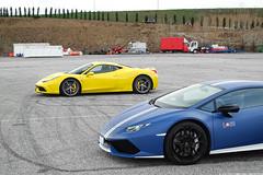 Bull vs Stallion (Stefano Bozzetti) Tags: lamborghini automobili huracan lp610 avio ferrari 458 italia speciale lamborghiniautomobili lamborghinihuracan lamborghinihuracanlp610 lamborghinihuracanavio huracanavio ferrari458 ferrari458italia ferrari458speciale yellowferrari stallion bull italian supercar car exotic auto automotive insiemeperunsorriso2017 trackday track event franciacorta autodromodifranciacorta 19bozzy92